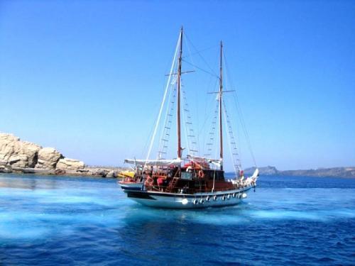 Пляжный отдых в Греции.