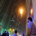 ВДубае при эвакуации изгорящего отеля умер один человек
