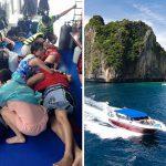 Два туристических баркаса столкнулись вТаиланде, есть пострадавшие