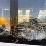 ВАбхазии закидали камнями автобус стуристами из Российской Федерации