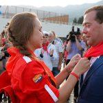 Медведев выделил наконцертный зал «Артека» 1,5 млрд руб.