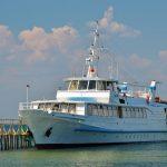 Три пассажирских судна сели намель наюге государства Украины