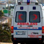 Возле турецкого курорта Анталья перевернулся автобус стуристами