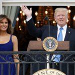 Мелания Трамп покорила нарядом напраздновании Дня независимости США