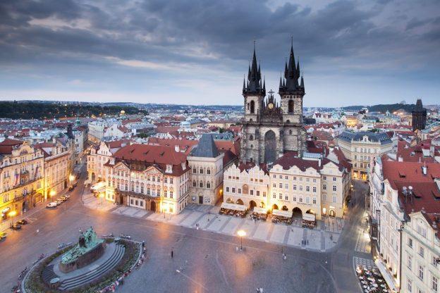 На ноябрьские праздники в Праге приглашают выпить виски