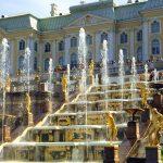 В Петергофе открылся фонтанный комплекс