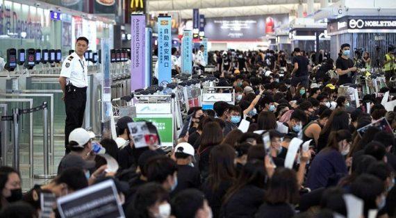 В аэропорту Гонконга тестируют систему, убивающую любые вирусы на коже за 40 секунд