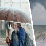 Черноморские курорты накроют непогода и ливни — аномальное похолодание