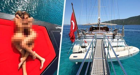 В Турции за фотосессию голыми задержаны туристки