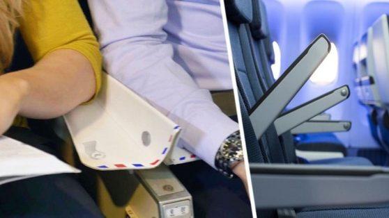 Как туристам можно решить спор из-за подлокотников в самолёте