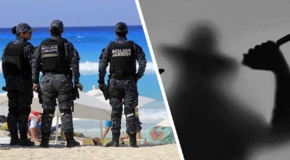 В туристку на пляже угодила пуля от бандитской разборки
