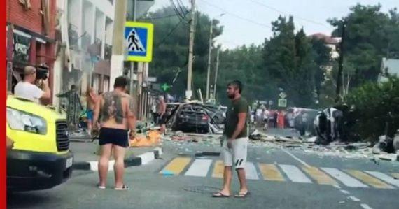 В Геленджике прогремел взрыв в отеле