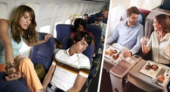 Как бесплатно пересесть из эконома в бизнес-класс: секрет от стюардессы