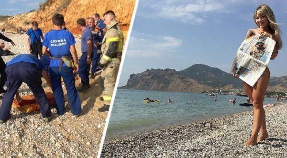 2 туриста чуть не погибли на нудистском пляже в Крыму