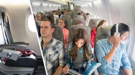 Стюардесса рассказала, кому из туристов принадлежат подлокотники среднего ряда