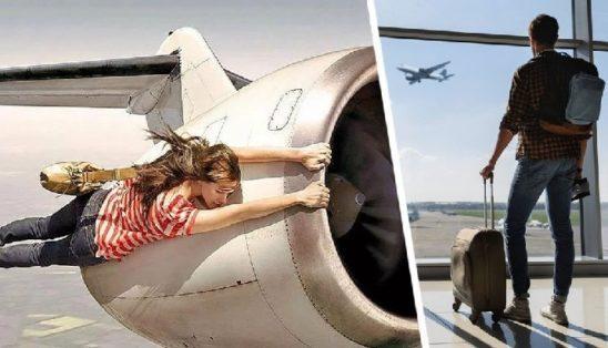 Стюардесса сообщила способ подняться на борт самолёта при опоздании