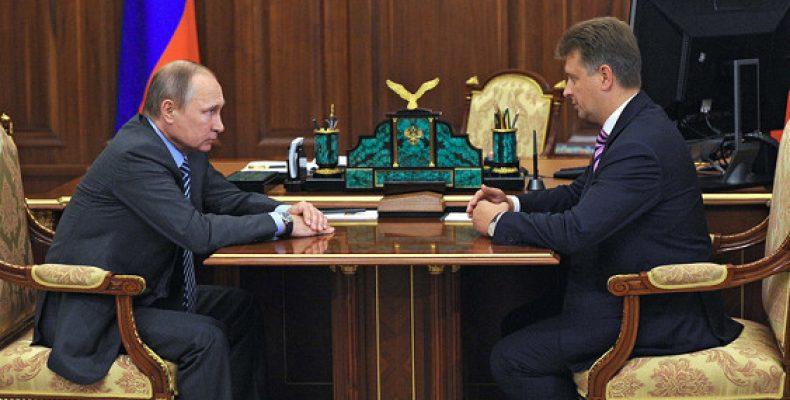Путин дал дисциплинарное взыскание главе Минтранса Соколову