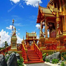 Королевский крематорий в Бангкоке будет доступен туристам