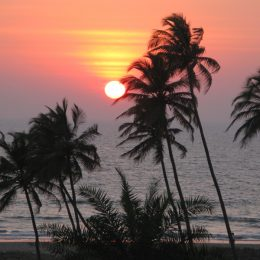 Индия, Анджуна пляж Северного Гоа