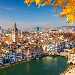 Цюрих Путешествия по Европе