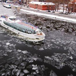 В Москве открывается зимняя навигация