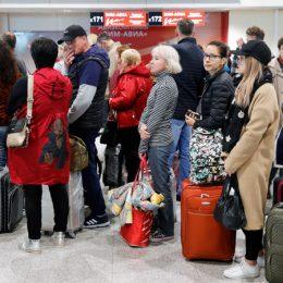 Транзитным пассажирам разрешили ночевать прямо в аэропорту