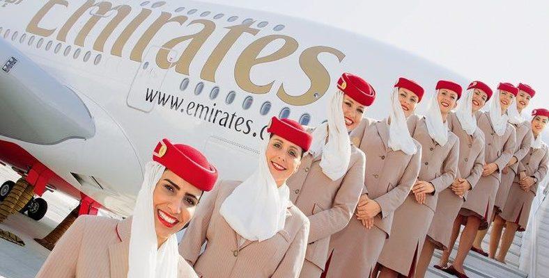 Авиакомпания Emirates Airlines предлагает сдачу багажа на дому