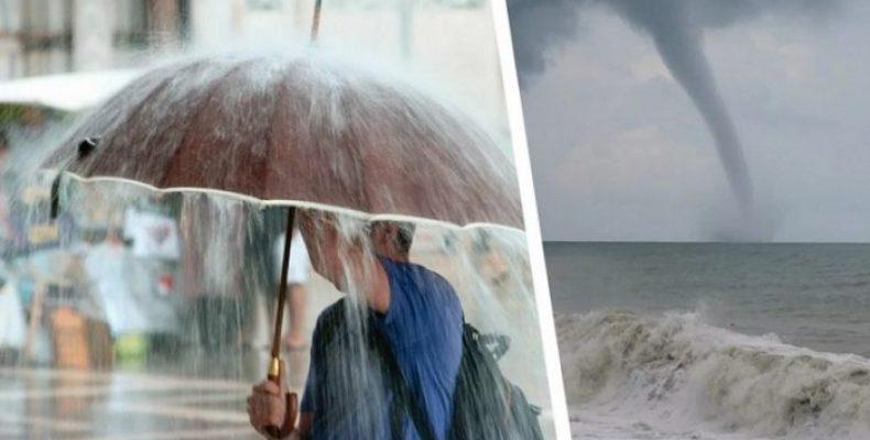 Черноморские курорты накроют непогода и ливни— аномальное похолодание