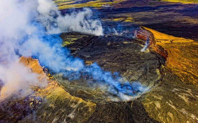 Извержение вулкана на Гавайях спровоцировало образование токсичных облаков