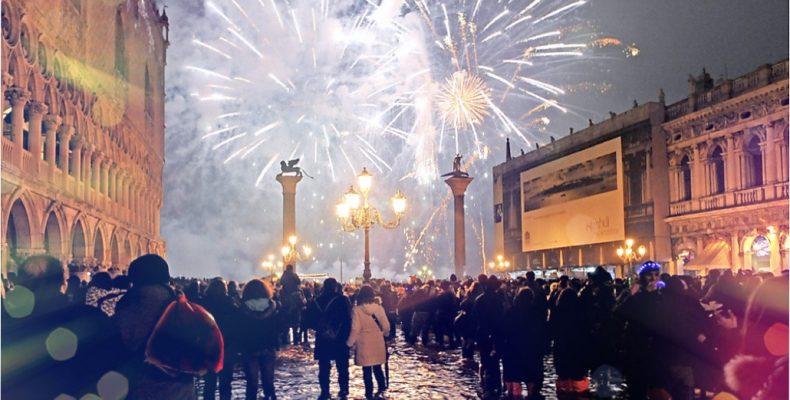 В Италии уже встречают новый 2019 год