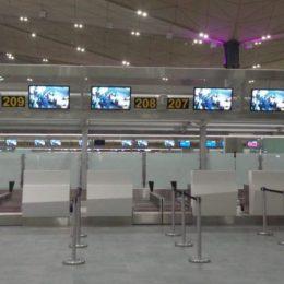 В Пулково на все рейсы запущены стойки мультирегистрации