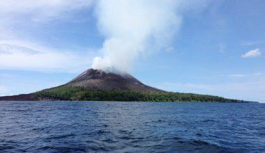 Вероятность цунами в Индонезии