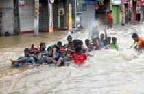 Сильные ливни грозят затопить Шри-Ланку