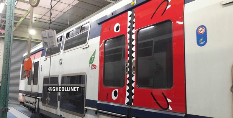 Двери французских поездов станут зубастыми